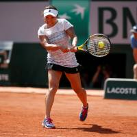 Nara loses to Williams in second round of French Open