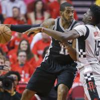 Spurs rout Rockets to advance to West finals
