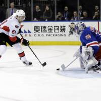 Senators beat Rangers in Game 6 to advance