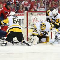 Penguins' Fleury stonewalls Capitals in Game 7