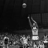 Dick Garrett helped the Southern Illinois University Salukis win the NIT championship in 1967. | SIU ATHLETICS