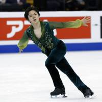 Shoma Uno had a breakout season in his second year on the senior circuit, winning the national title and claiming the silver medal behind Yuzuru Hanyu at the world championships last month. | AP