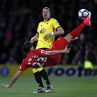 Liverpool boosts Champions League hopes by beating Watford
