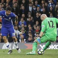 Chelsea moves closer to Premier League title by trouncing Middlesbrough
