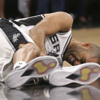 Spurs lose Parker for rest of playoffs with quadriceps injury
