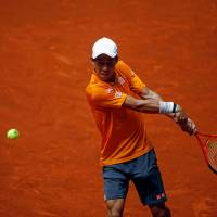 Nishikori rallies to reach third round of Madrid Open