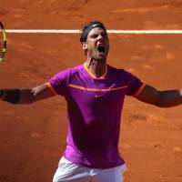 Nadal dominates Djokovic in Madrid Open semifinal