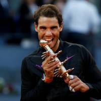 Nadal bests Thiem for Madrid Open crown