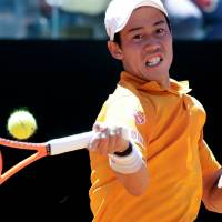 Nishikori advances to quarters in Rome