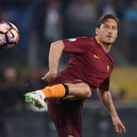 Fan favorite Totti leaves future uncertain before final match with Roma