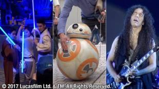 [VIDEO] ''Star Wars Day' Tokyo' at Roppongi Hills Arena