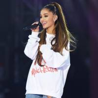Ariana Grande performs during the One Love Manchester benefit concert at Emirates Old Trafford on June 4. | DAVE HOGAN / ONE LOVE MANCHESTER / REUTERS