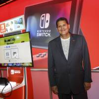 Reggie Fils-Aime, president and chief operating officer of Nintendo of America Inc., at the E3 Electronic Entertainment Expo in Los Angeles. | BLOOMBERG