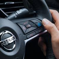 ProPilot controls inside the new X-Trail SUV are seen.   NISSAN MOTOR / VIA BLOOMBERG