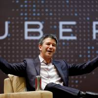Uber CEO Kalanick quits under pressure from investors