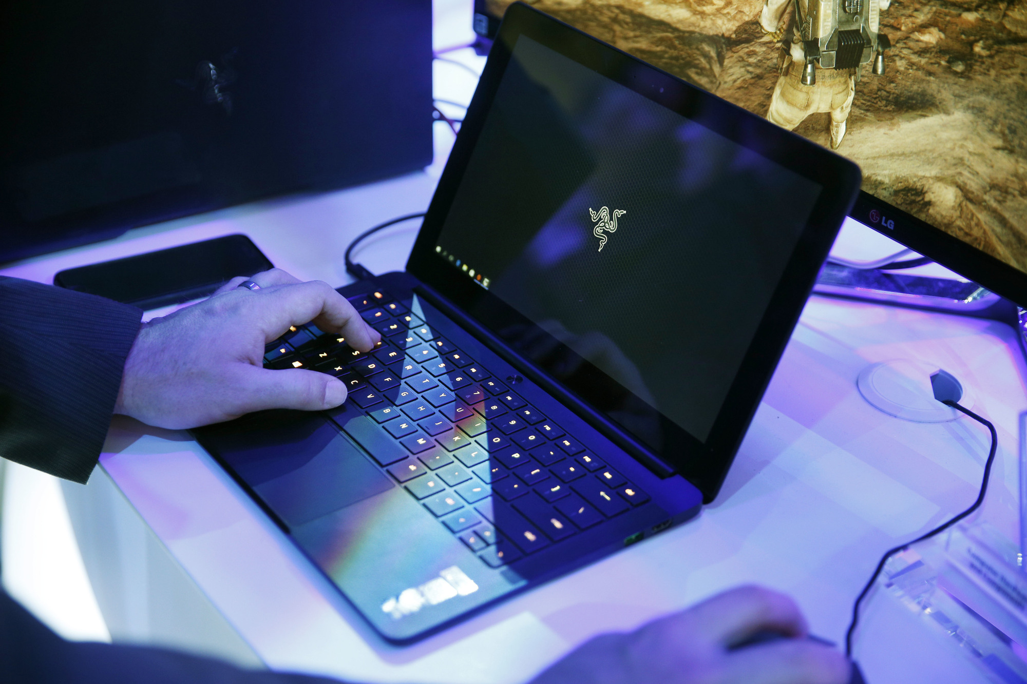 The Homeland Security Department is set to announce new security measures Wednesday for international flights bound to the United States that could lead to a lifting of a ban on laptops and other electronics from passenger cabins from certain airports. | AP