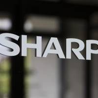 Sharp Corp. plans to develop large OLED display panels for television sets by spending  about ¥57.4 billion to add production lines at its plants in the city of Sakai, Osaka Prefecture, and the town of Taki, Mie Prefecture. | BLOOMBERG