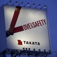 End of the road for Takata? Air bag maker may file for bankruptcy next week