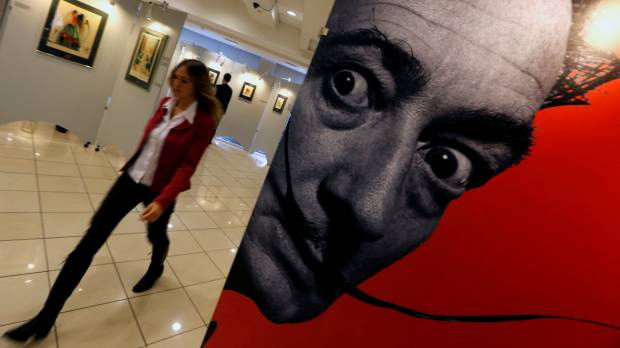 Artist Salvador Dali's bones to be exhumed in Spain for paternity test