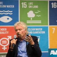Branson petitions U.N. to protect oceans, calls Trump 'naive' for exiting Paris climate pact