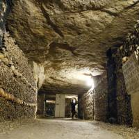 Teen pair rescued after being lost in catacombs below Paris for three days