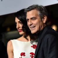 George and Amal Clooney celebrate birth of twins