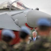 U.K. defense chief Fallon praises pilots for stopping 'Russian threat' in Black Sea