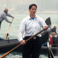Venice's first officially declared female gondolier announces he's transgender