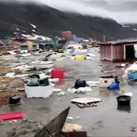 Four missing in tsunami-hit Greenland village after M4 temblor