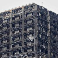 London fire: Other high-rises have similar combustible panels