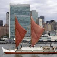Traditional Hawaiian canoe returns after epic round-the-world voyage