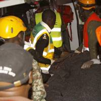 Most believed evacuated before seven-floor building collapsed in Nairobi; trio rescued