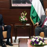 Kushner kicks off first solo Mideast peace tour, meets Netanyahu, Abbas