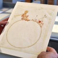 Watercolor paintings of 'The Little Prince' sell for over €500,000 at Paris auction