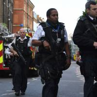 Site of London terrorist attack is multiethnic and international, frequented by foreign tourists
