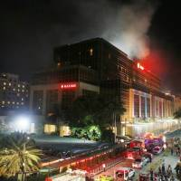 Islamic State takes quick credit after gunshots, blasts erupt at Manila casino complex