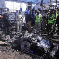 Al-Shabab claims suicide attack that kills seven at Mogadishu police station