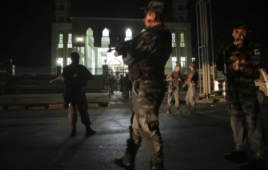 Islamic State takes credit as suicide bombers hit Kabul Shiite mosque, kill four