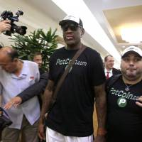 Rodman's return to North Korea brings with it speculation of Trump connection