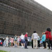 Noose found in gallery at African American museum in Washington