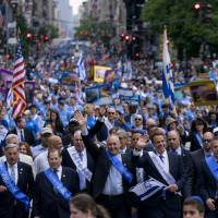 Thousands turn out in Big Apple for annual Celebrate Israel parade