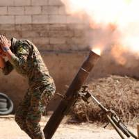 Kurd spirits high as they advance on Raqqa but Islamic State ranks seen falling back for final stand at Mayadeen