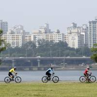South Korea's infrastructure boondoggle a boon for cyclists