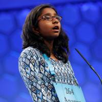 Unflappable 12-year-old California girl wins National Spelling Bee