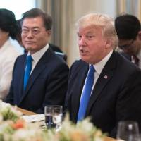 Trump to take up North Korea threat, trade in talks with Moon