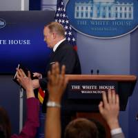 Trump team limits press briefings' time and subjects