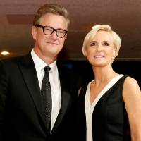 MSNBC's Joe Scarborough and Mika Brzezinski arrive for the annual White House Correspondents' Association dinner in Washington in 2015. | REUTERS