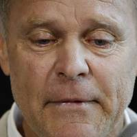 Fred Warmbier, father of Otto Warmbier, a University of Virginia undergraduate student who was imprisoned in North Korea in March 2016, speaks during a June 15 news conference at Wyoming High School in Cincinnati. Otto Warmbier, who was released by North Korea in a coma last week after almost a year and a half in captivity, died Monday, his family said.   AP