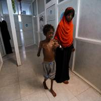 U.N. urges Yemen's warring sides to cease fire and open 'critical lifeline' ports to deal with cholera scourge