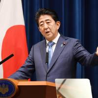 A contrite Abe takes blame for support plunge